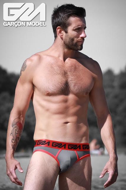Sexy model Daniel in Garcon Model underwear