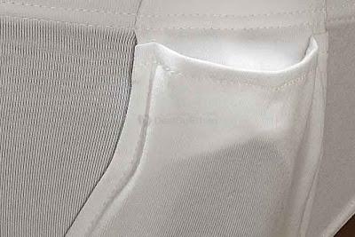 King Style underwear - male brief white