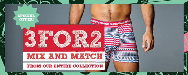 Frank Dandy underwear offer