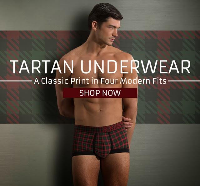 2xist Tartan underwear