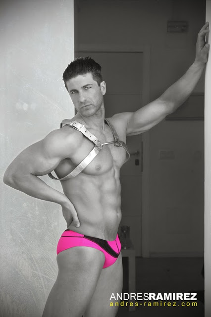 Andres Ramirez photographer - David Fillol in 2eros underwear