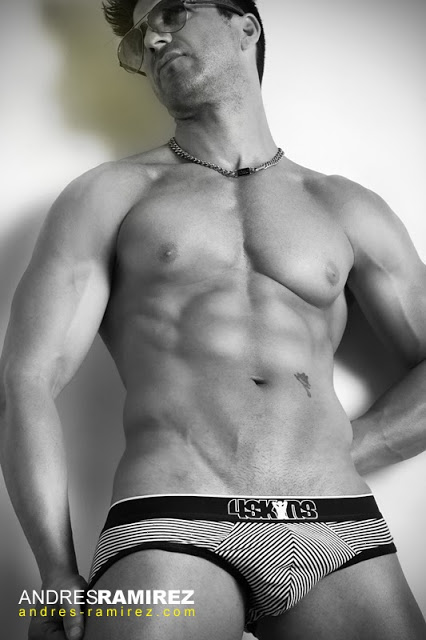 Andres Ramirez photographer - David Fillol in 4skins underwear