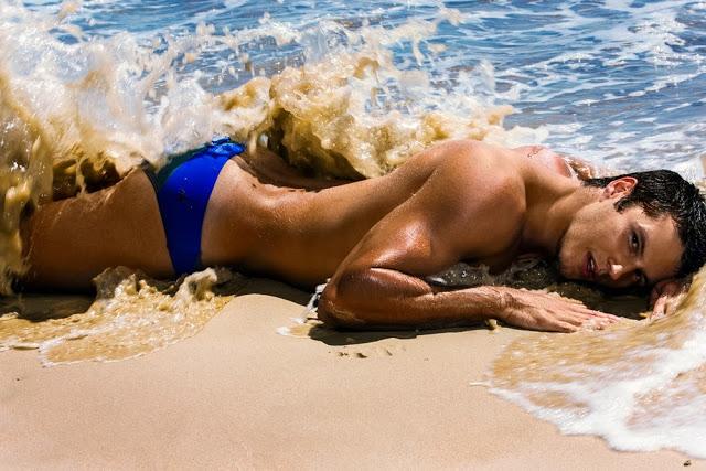 Marcuse swimwear Marine