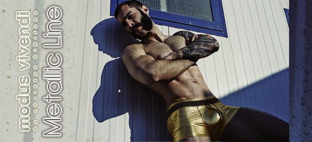 Modus Vivendi underwear Metallic line