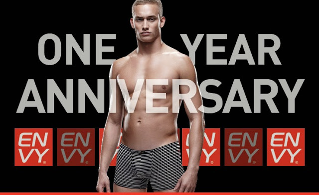 Envy underwear - one year anniversary