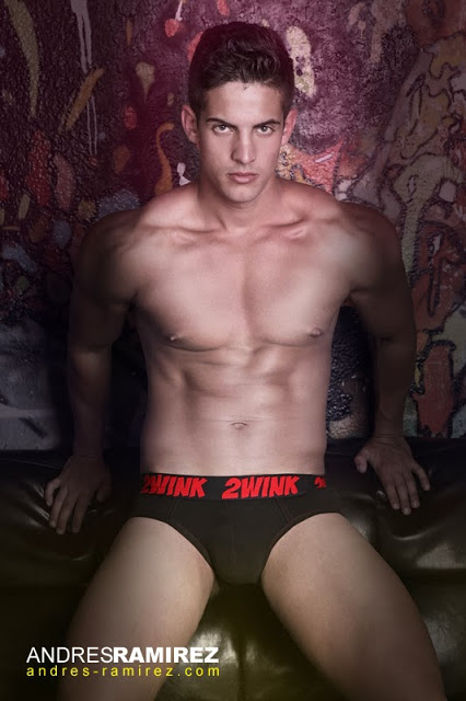 Sexy Christian Lopez in underwear by 2wink
