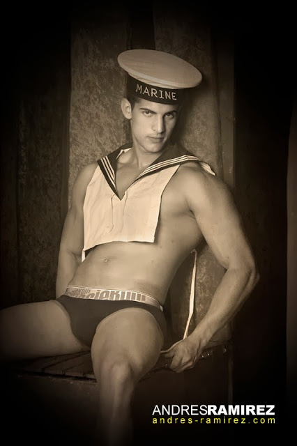 Sexy Christian Lopez in underwear by aussieBum