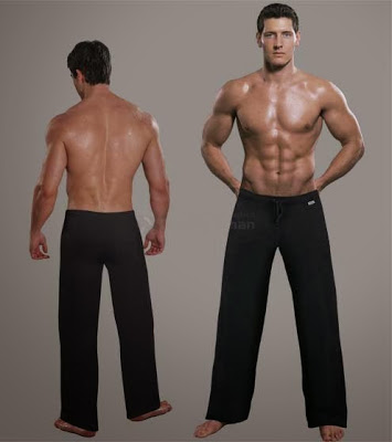 Falocco activewear collection black pants