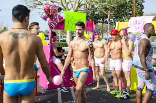 Andrew Christian Candy Pop video still