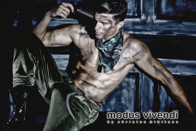 Modus Vivendi mens velvet clothing