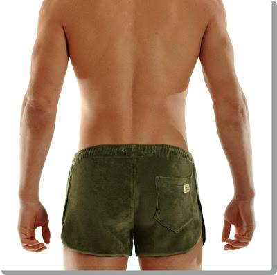 Modus Vivendi mens velvet shorts