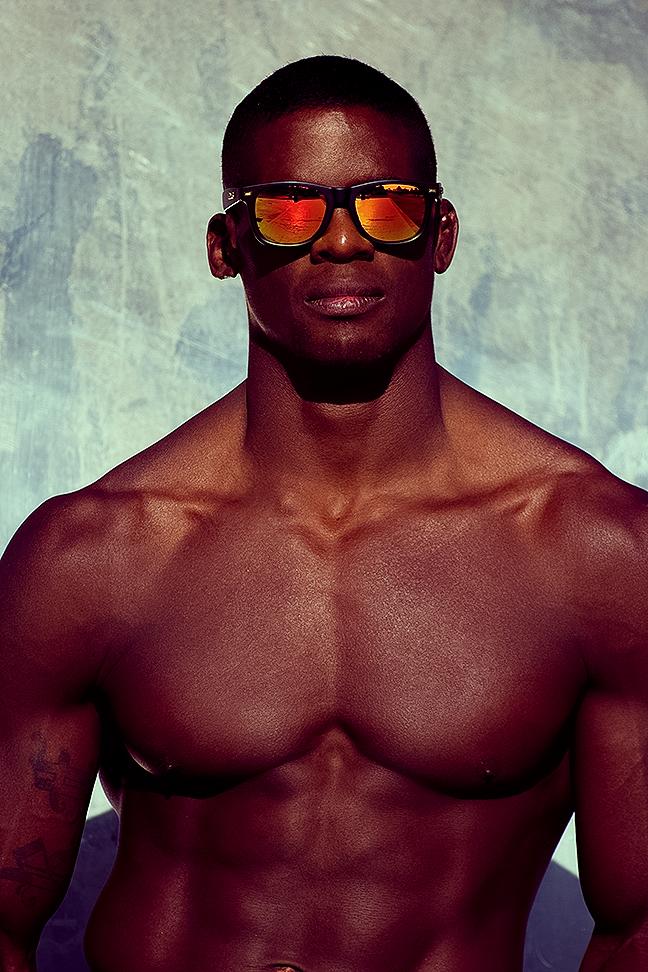 Sexy Reinaldo Fuzil by Adrian C. Martin in NIT swimwear