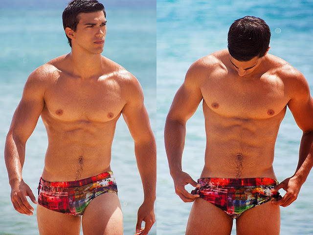 Miguel Betancort by Adrian C. Martin for CaRioCa swimwear