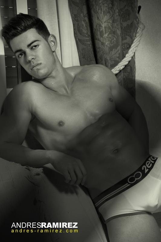 Cristian Carcela in 2eros underwear