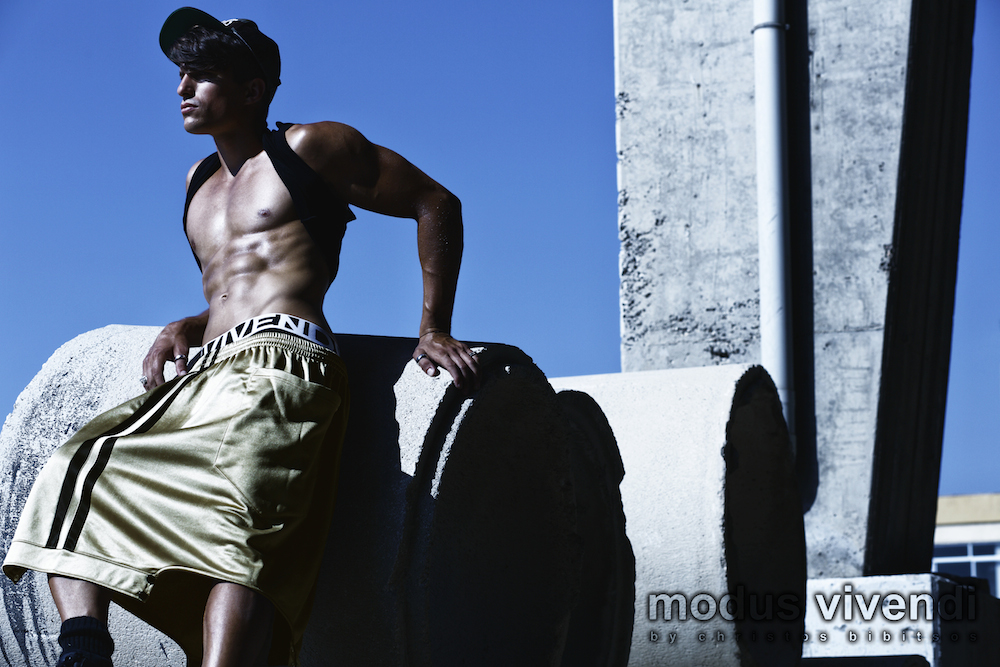Modus Vivendi - Crossfit Line of male gym wear