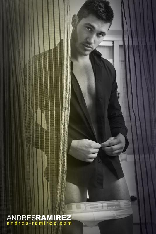 Carlos Gonzalez in Aware Soho underwear