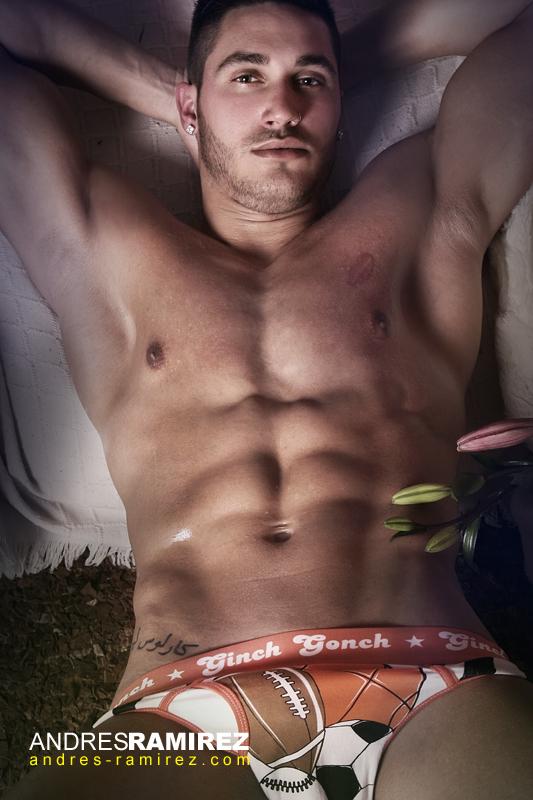 Carlos Gonzalez in Ginch Gonch underwear