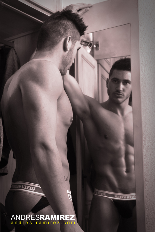 Carlos Gonzalez in Interview underwear
