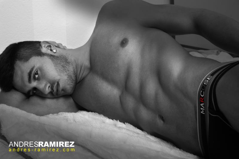 Carlos Gonzalez in Marcuse underwear
