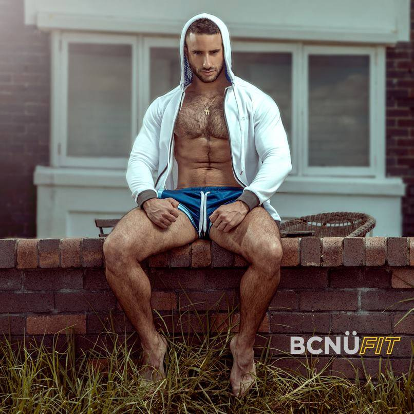 Sexy model Eliad Cohen - New face for BCNU clothing