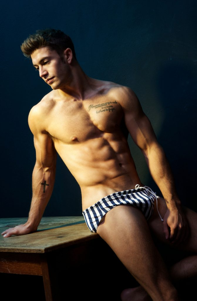 British model Benji Taylor by Gavin Harrison
