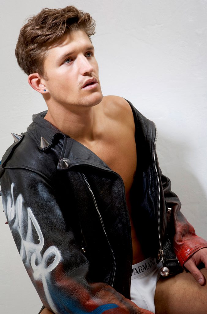 Jamie Clarke by Gavin Harrison - Armani underwear