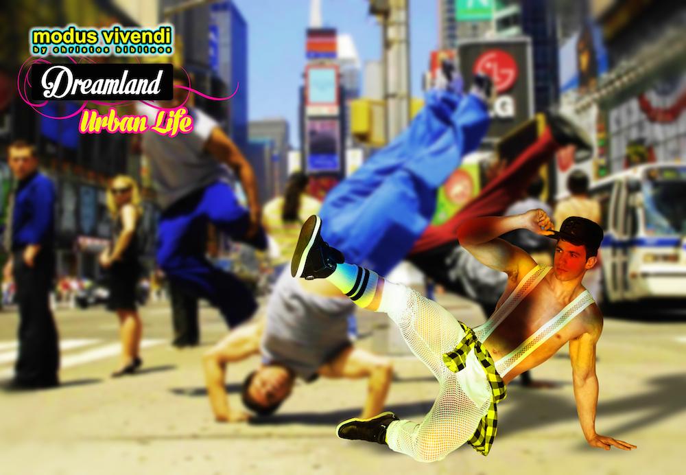Modus Vivendi onesie Dreamland-Urban Life