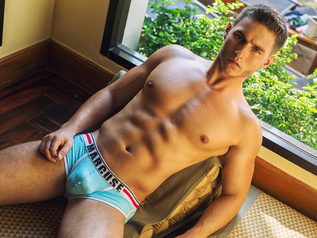 Anatoliy Goncharov for Marcuse underwear