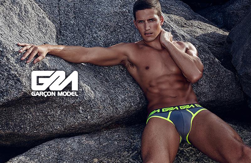 Garcon model underwear - Spring Summer 2014