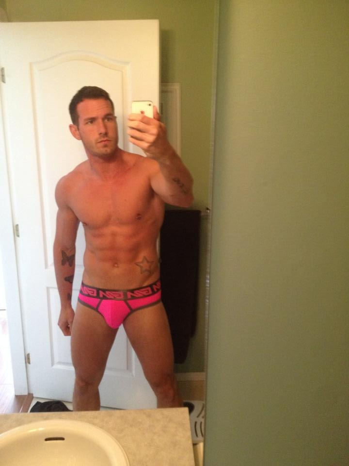 Garcon model underwear selfie contest