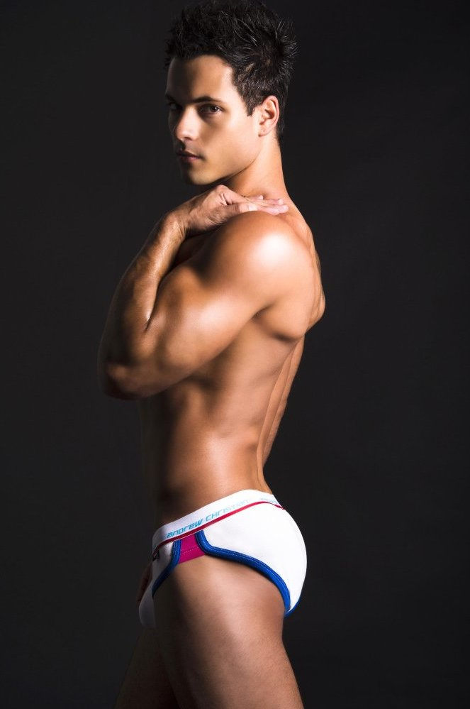 Andrew Christian RetroPop brief with Show-It technology