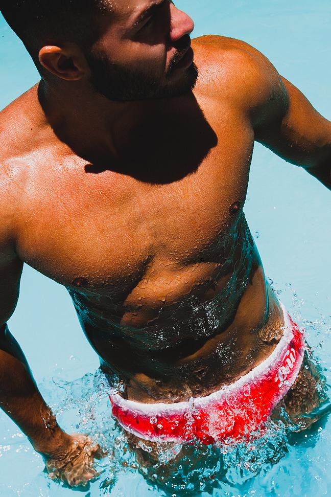 Jordi Rodriguez - Alexander Pérez - Boys Get Wet swimwear