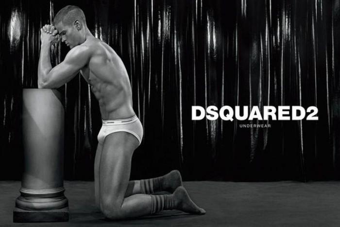 DSQUARED2 underwear campaign