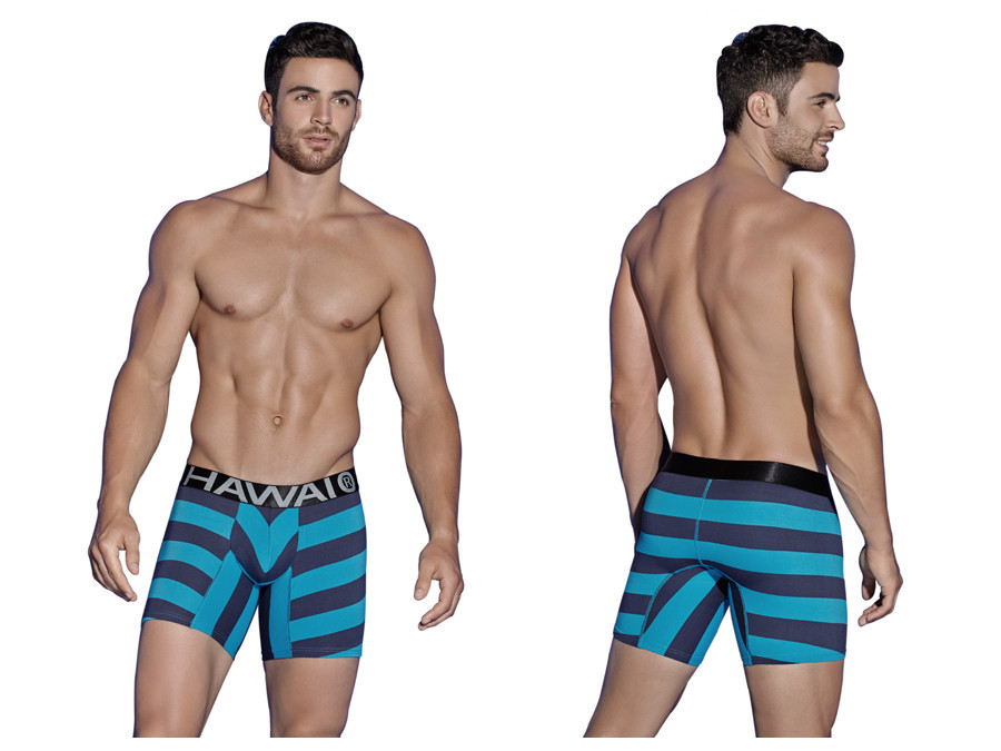 Hawai underwear - Stretch cotton hypnosis boxer