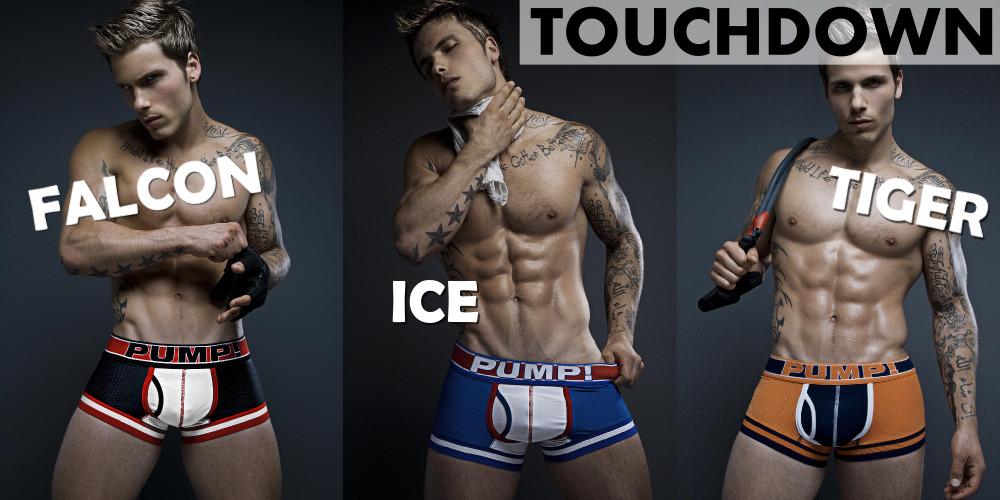 PUMP underwear - Touchdown boxers