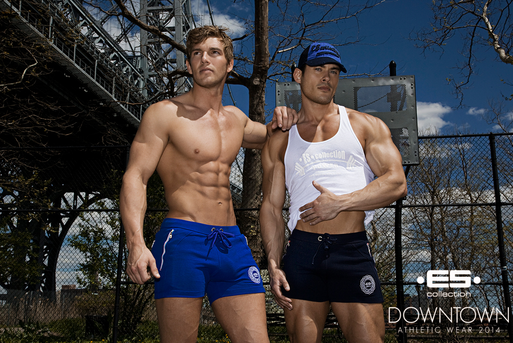 ES collection athletic wear 2014 - Downtown campaign