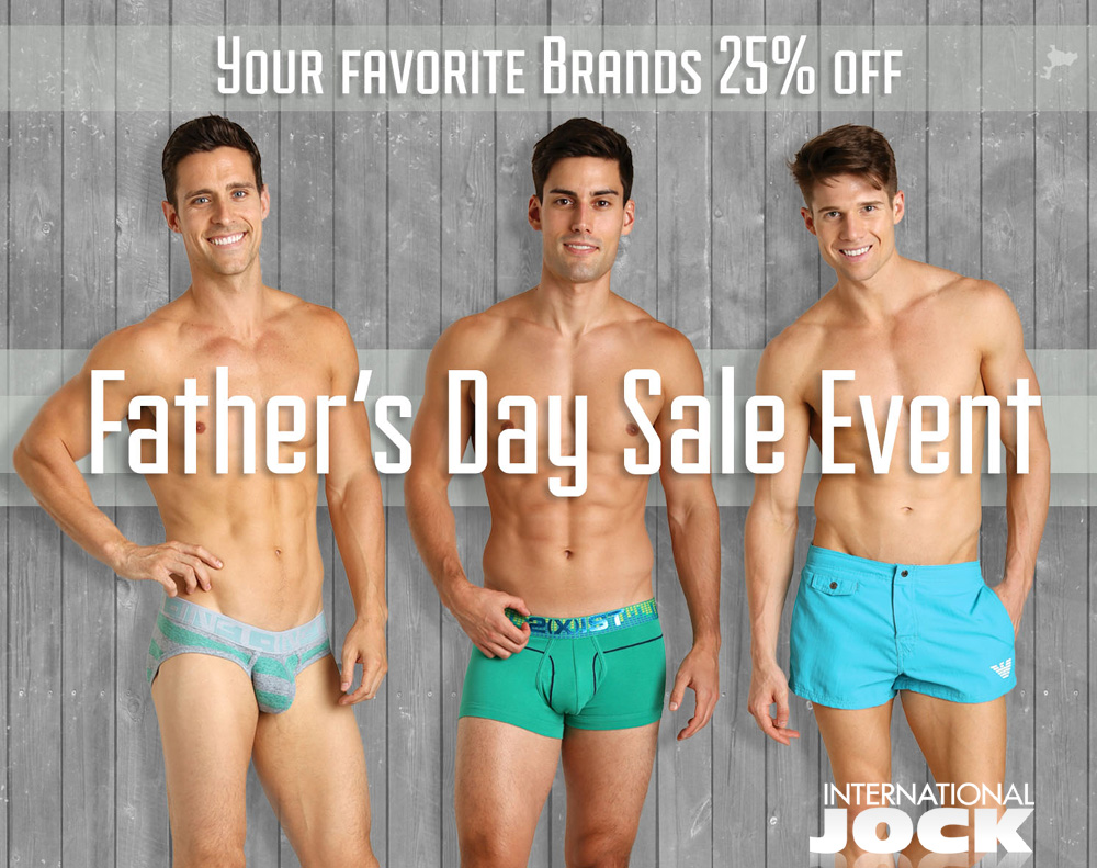 International Jock - Father's Day sales