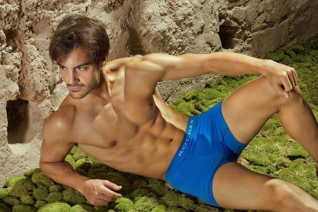 Rochas Paris underwear for men
