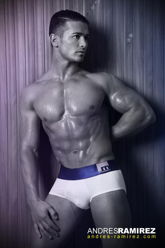 Sexy Antonin Irodia in Mosmann Australia underwear