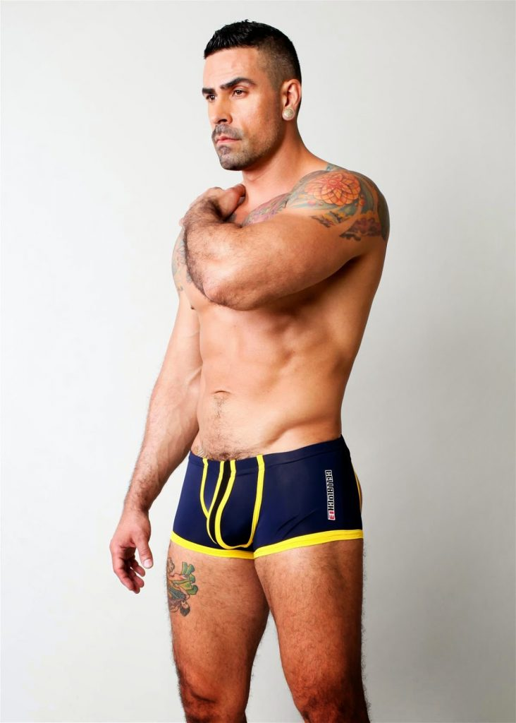 Cellblock13 underwear - Asylum Lace up trunk