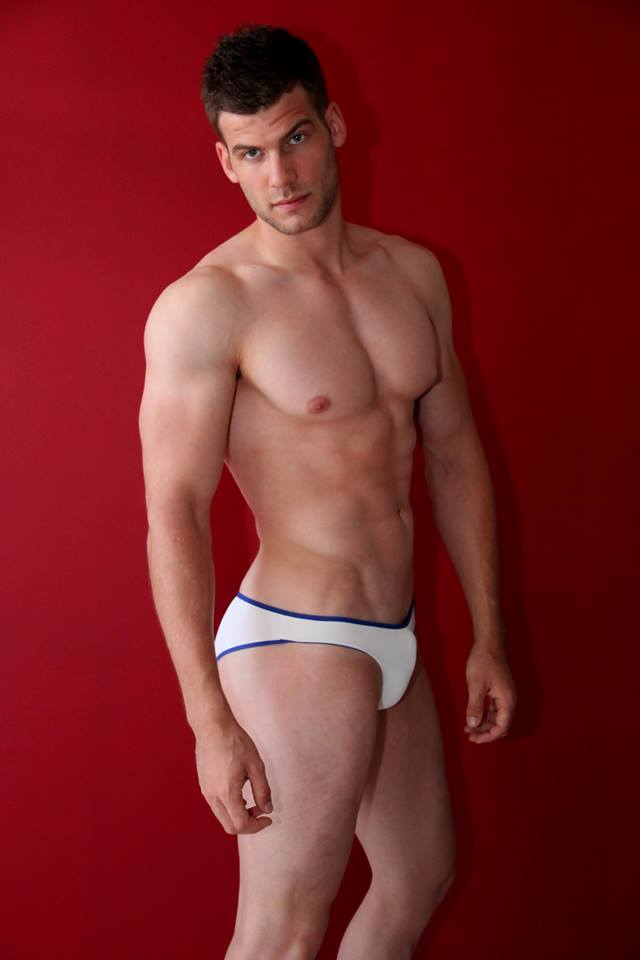 Thomas Huez in Petit-Q underwear