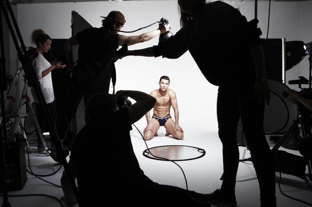 CR7 underwear - Christiano Ronaldo behind the scenes