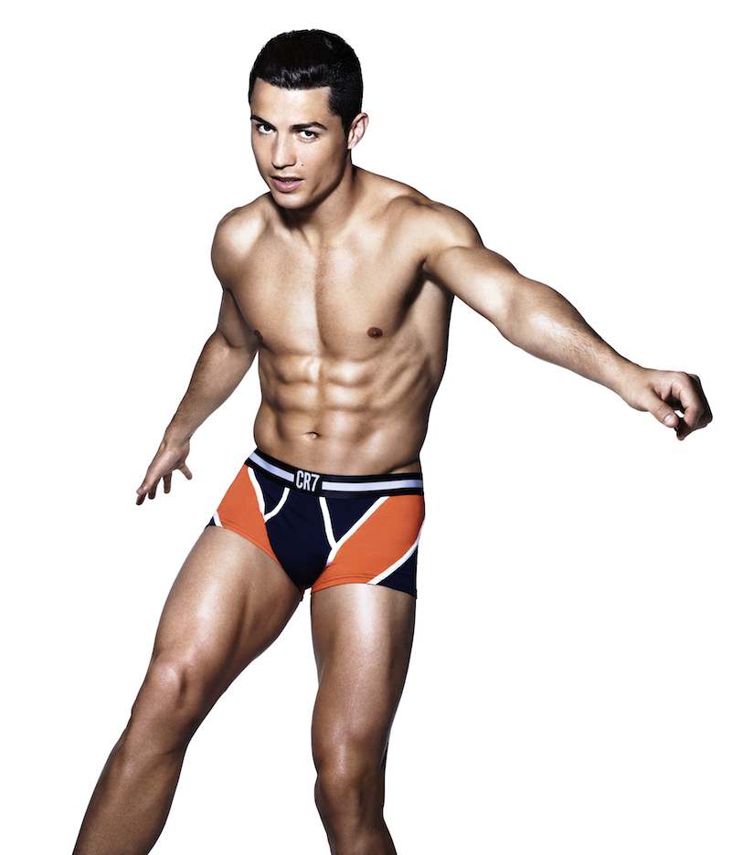 CR7 underwear - Rankin x Ronaldo - official campaign