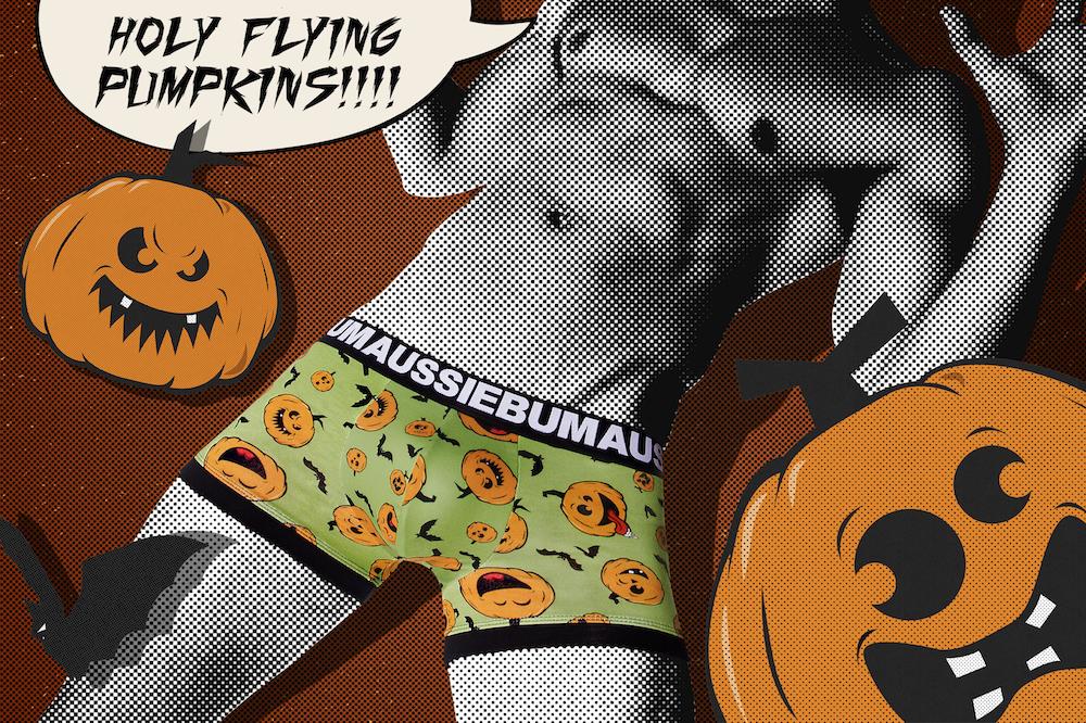 aussiebum underwear - Halloween - Jack the Pumpkin