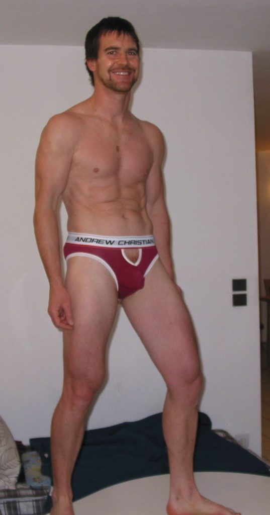 Marc Delavigne X in Garcon model underwear