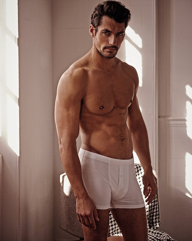 David Gandy launches own underwear collection for M&S