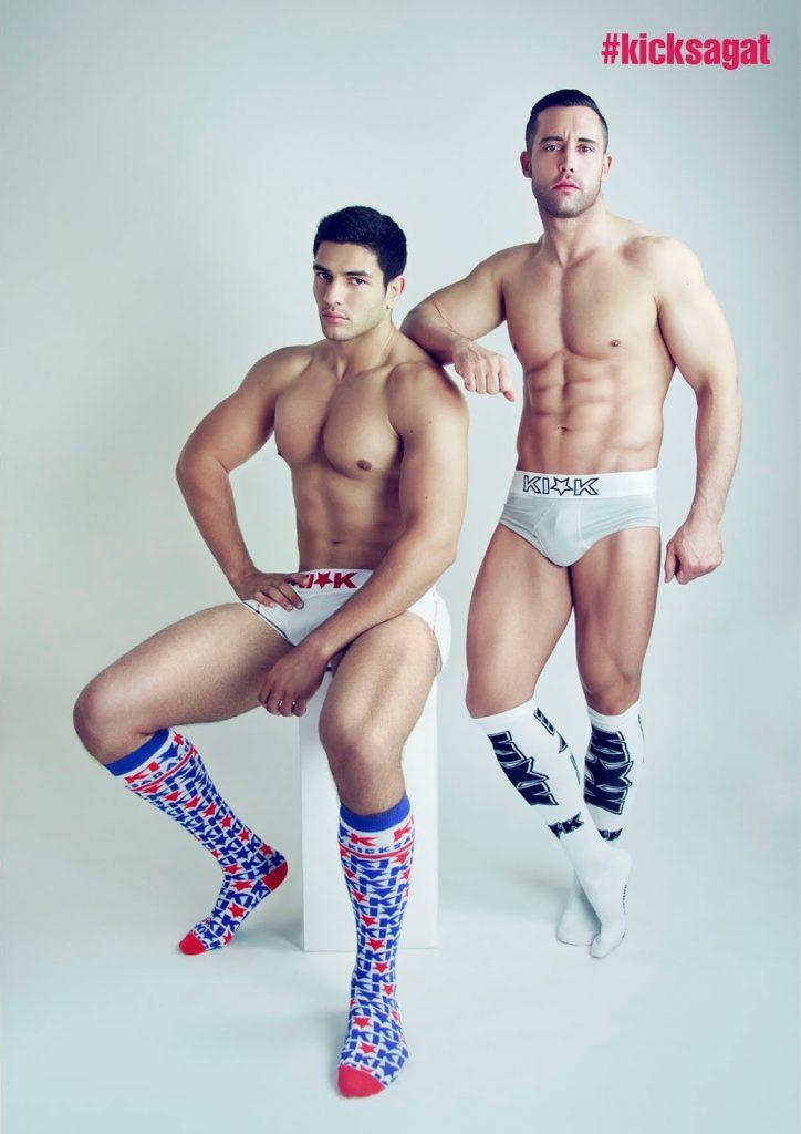 Kick Sagat underwear by Francois Sagat