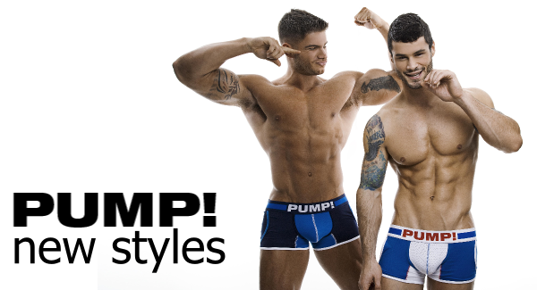 PUMP! underwear - new collection at Vocla