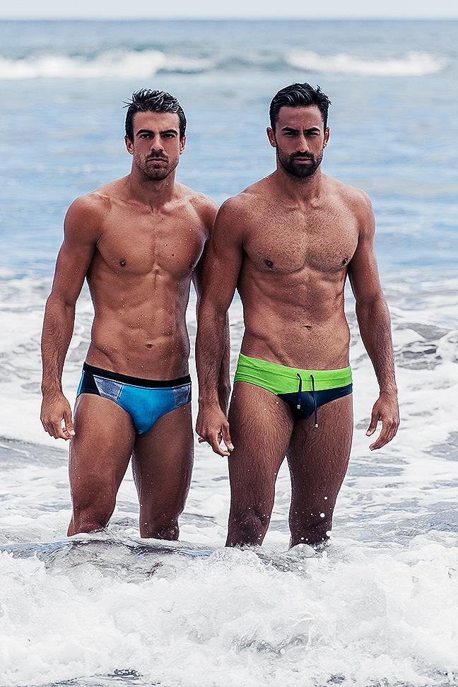 Sergio Del Pino and Carlos Hernandez - BWET swimwear - Adrian C. Martin