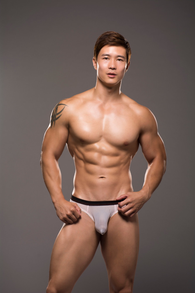 Andrew Christian underwear - Sheer mesh brief